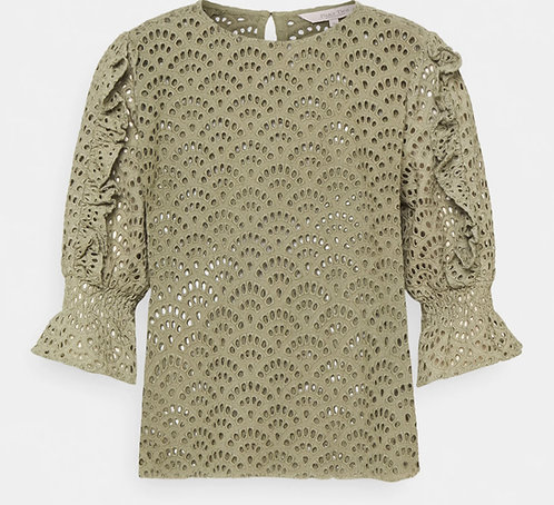 Part Two - Heena Blouse - Vetiver