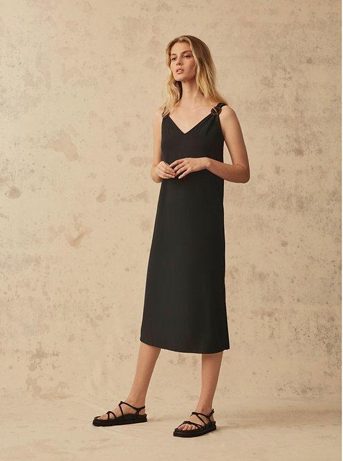 Great Plains -Sena Jersey Dress - Black