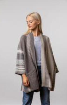 Eribe  - Montrose Blanket Coat -Edelweiss
