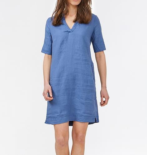 Sandwich Dress - Evening Blue