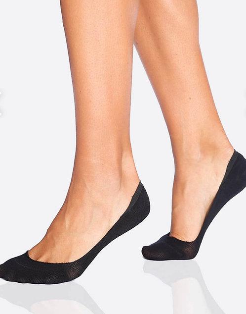 Boody -Womens Low Hidden Socks -Black