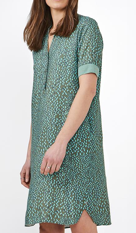 Sandwich Dress - Spring Olive