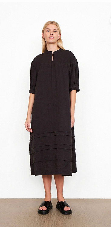Second Female - Mallorca Midi Dress - Black