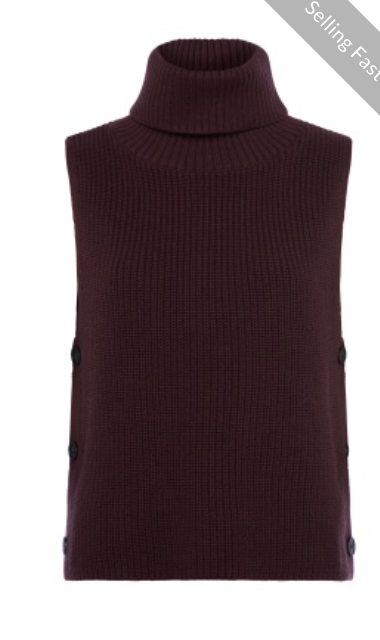 Great Plains - Aggie Knit - Rollneck - Mahogany