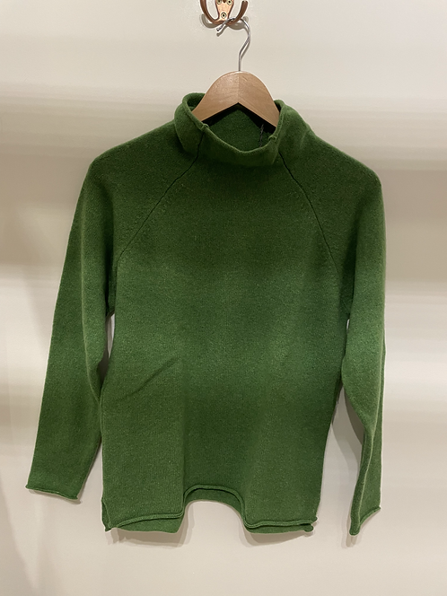 Eribe  -Corry Raglan Pullover - Watercress