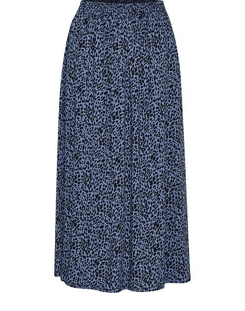 Kaffe - KAbarbara Skirt - Quiet Harbour Blue