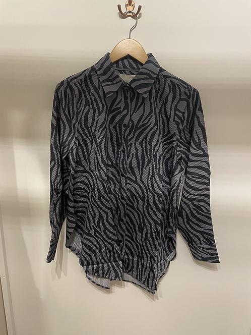 Part Two - KassiaPW Shirt - StormyWeather Zebra Print