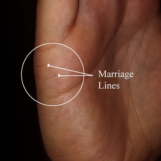 marriage & relationship lines palmistry