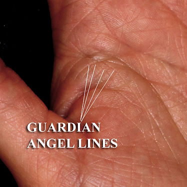 guardian angel lines on the hands palmistry