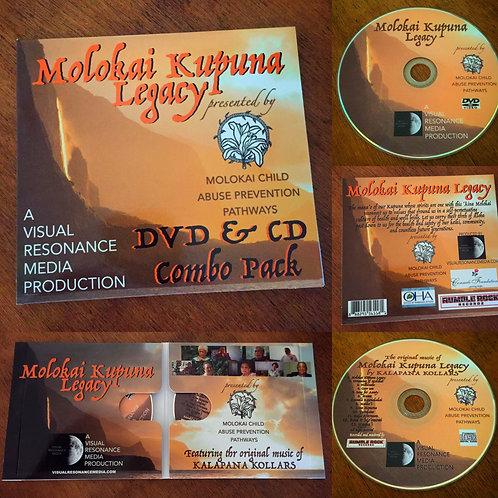 Molokai Kupuna Legacy DVD & CD Combo Pack