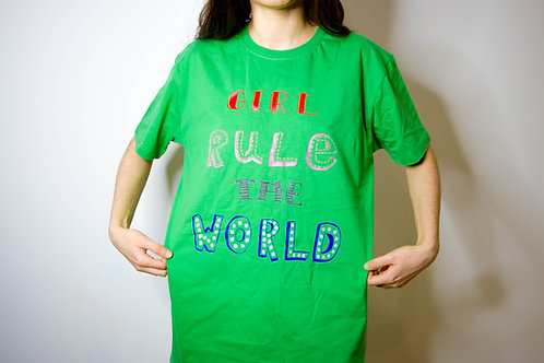 'Girl Rule the World' T-shirt