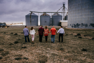 Spring Weather + Silos | Stephenville Family Photographer