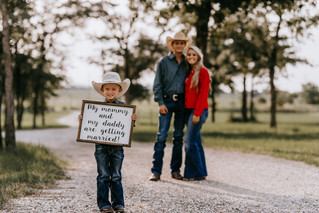 Texas Love | LC Ranch Engagement Session