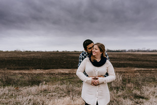 New Year, New Love | North Texas Engagement Photographer