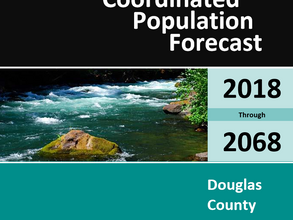 Coordinated Population Forecast 2018-2068 for Douglas County
