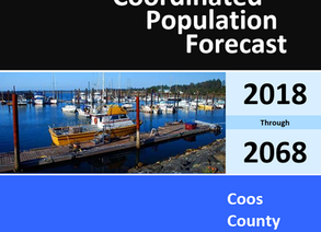 Coordinated Population Forecast 2018-2068 for Coos County