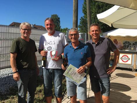 Sieger +60: Holzleitner Klaus und Dorfer Gerhard