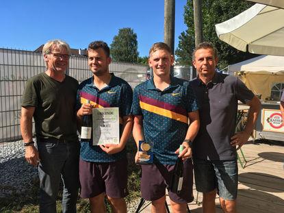 Sieger Herren: Gassner Alexander und Paireder Robin