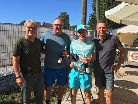 Sieger +45: Gassner Manfred und Lang Franz