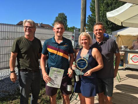 Sieger Mixed: Kranewitter Sonja und Gassner Alexander
