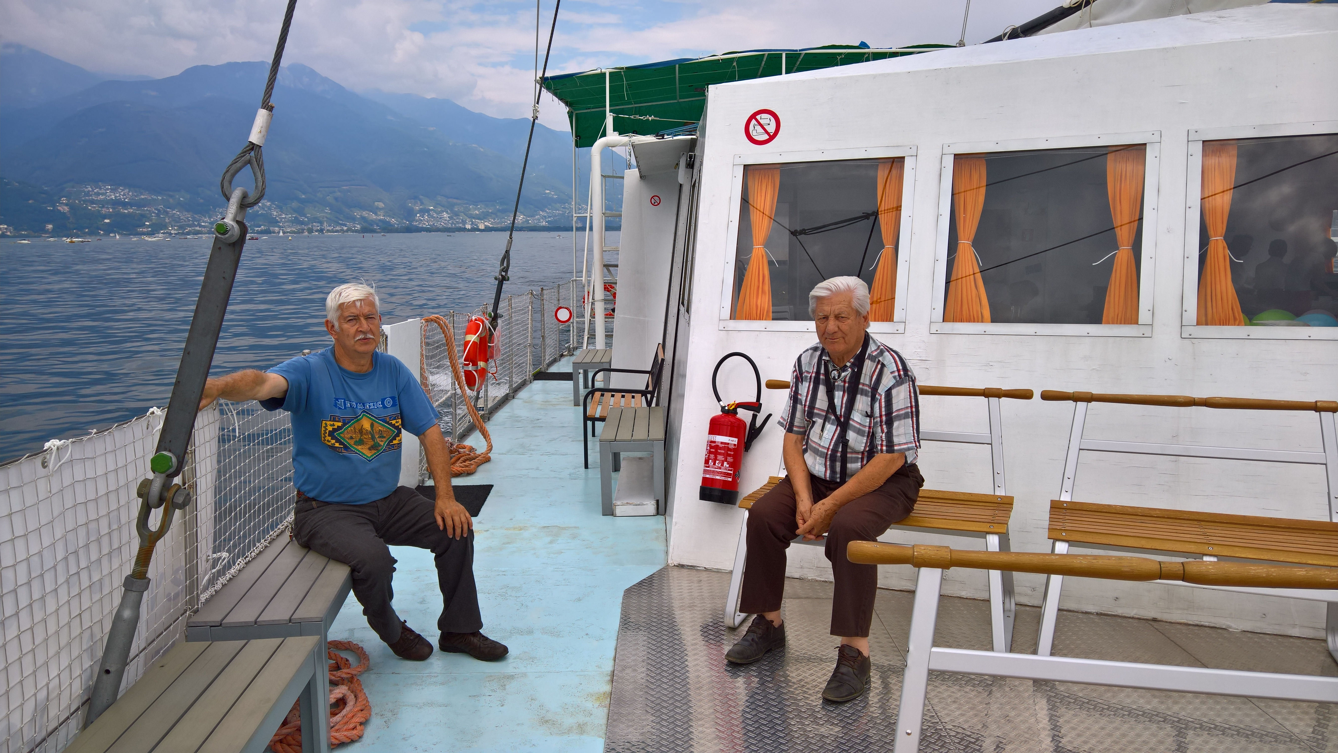 Ospiti a bordo