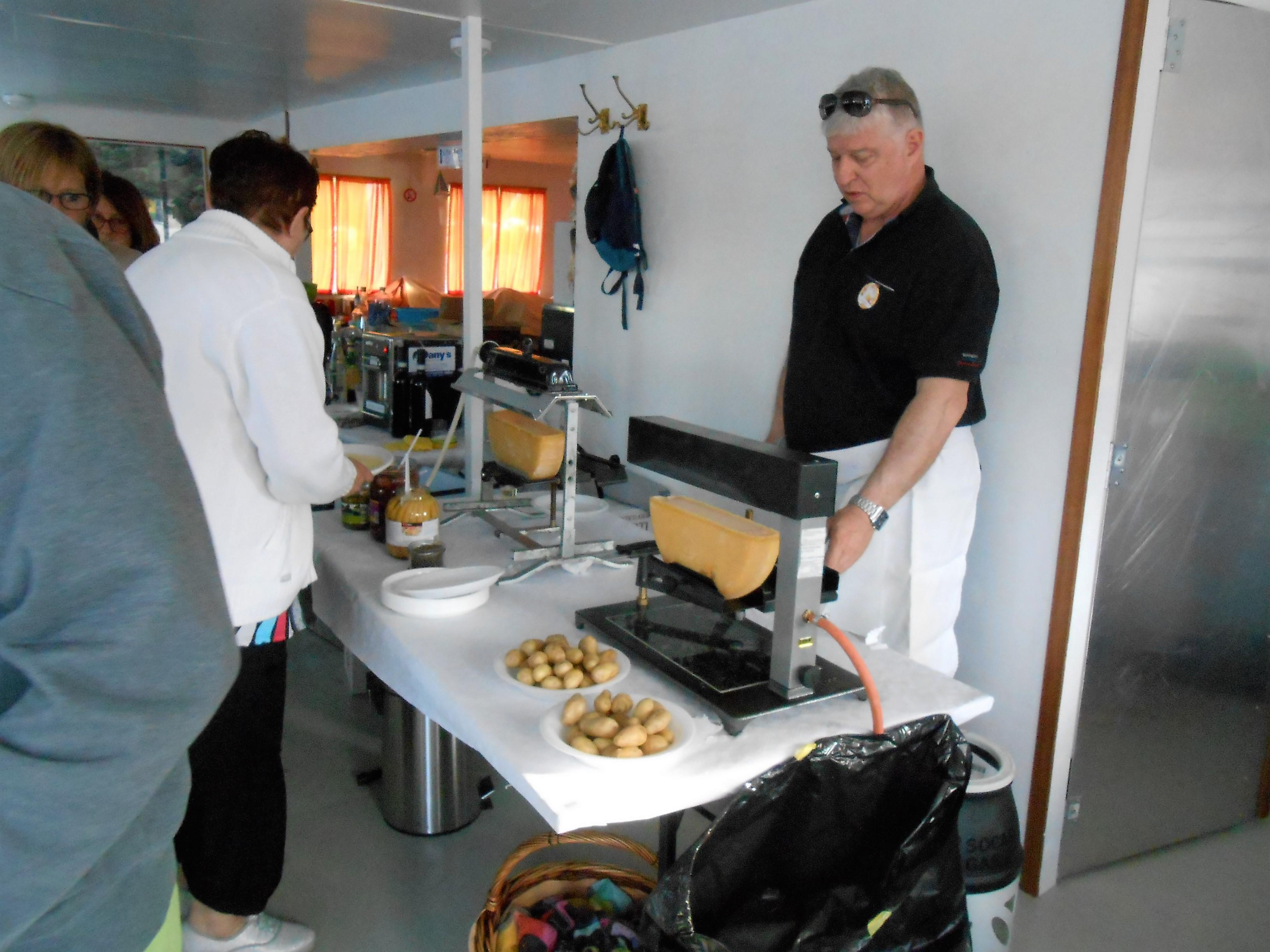 Raclette galleggiante