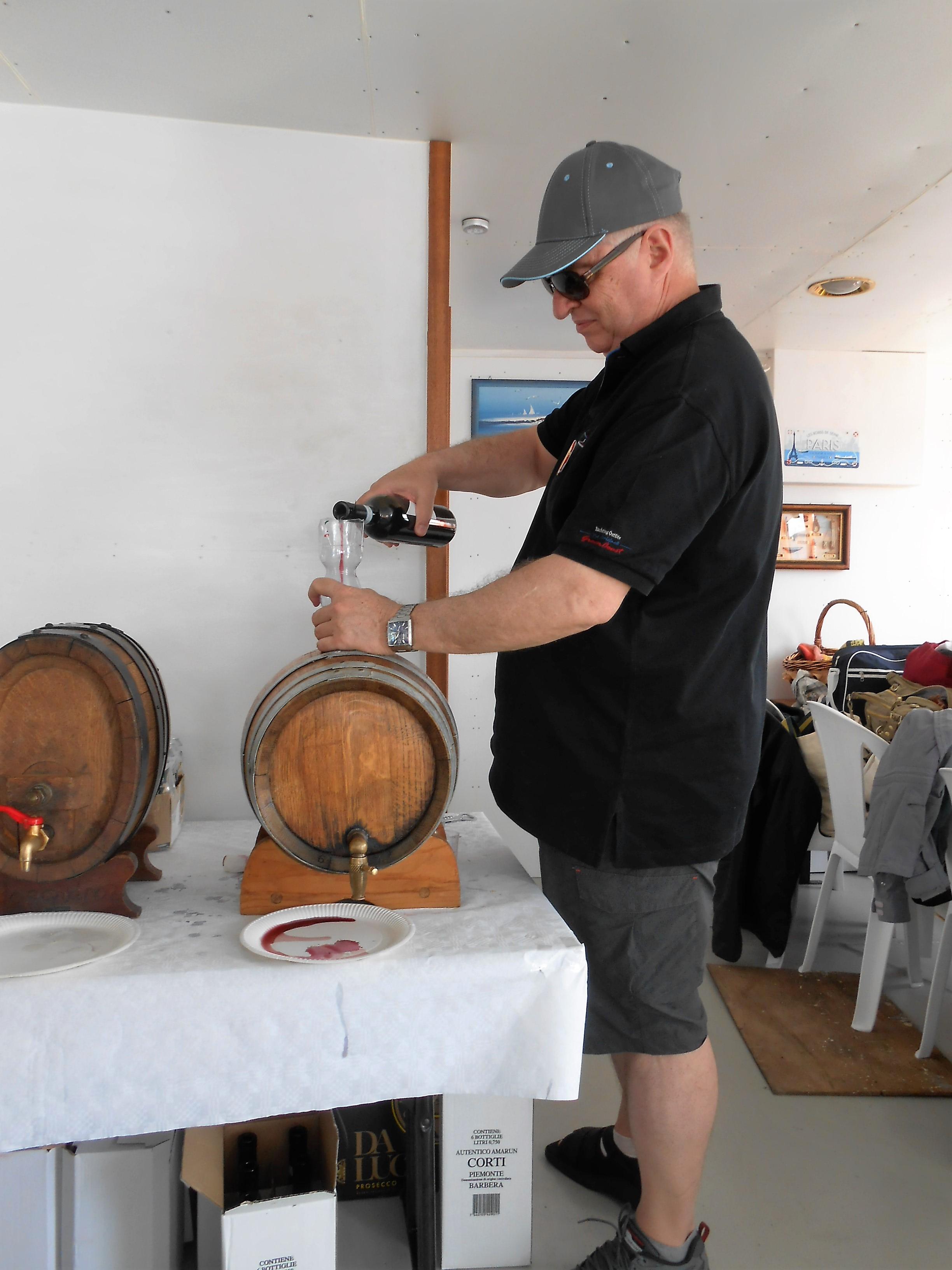 Il vino galleggiante