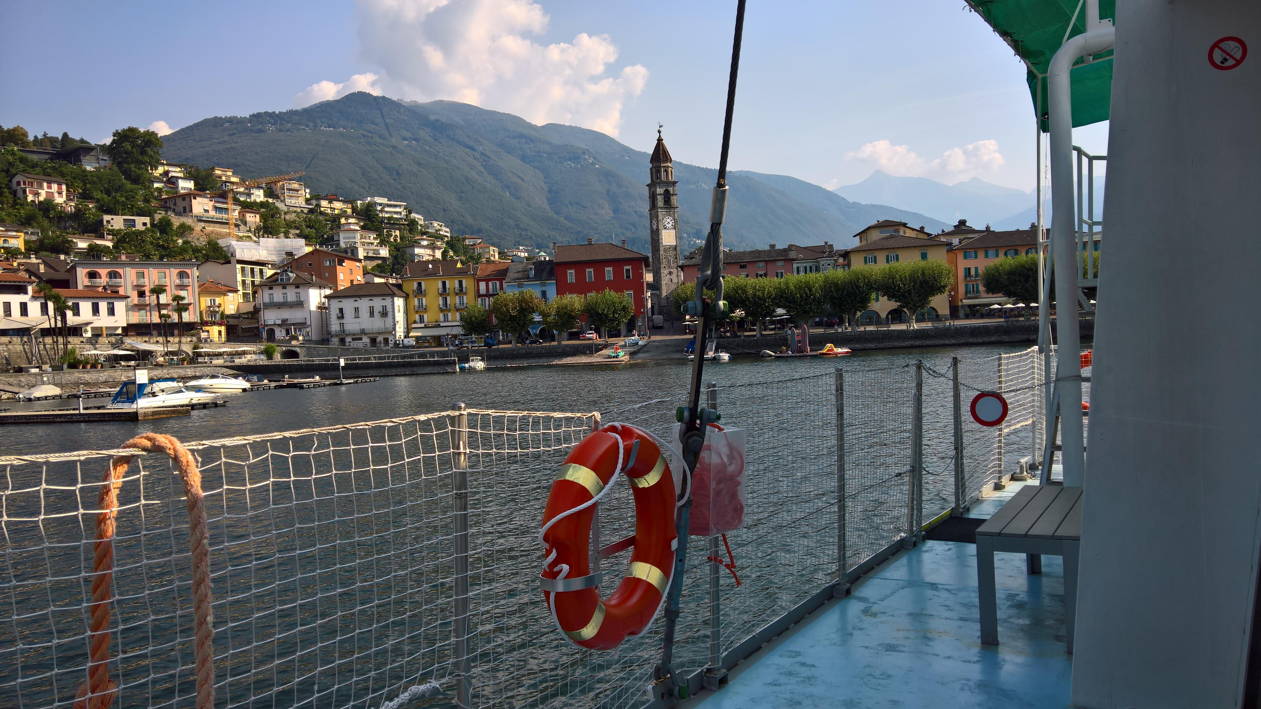"Ascona vista dal ""TANIMARA III"""