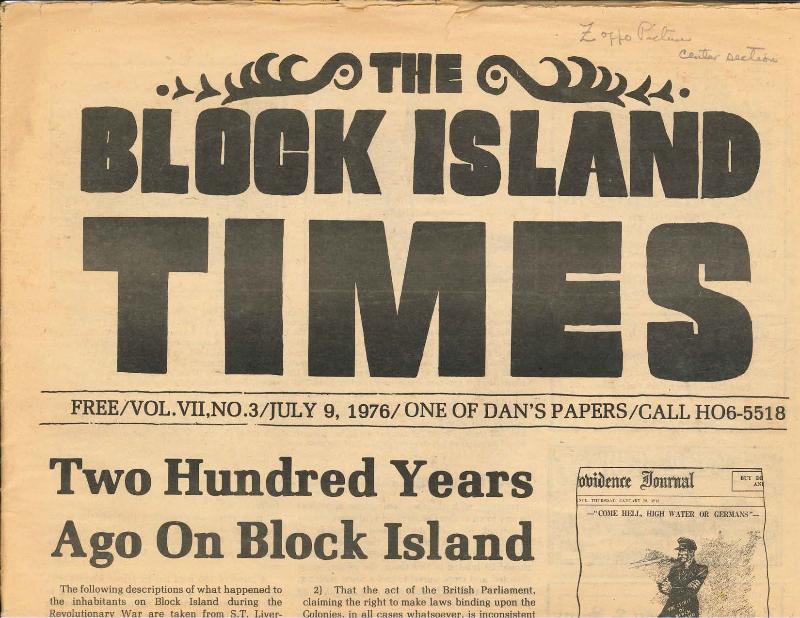 Block Island Infrastructure