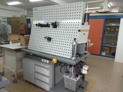 Banco de trabajo HLA80-2 (HRE Hidraulic)