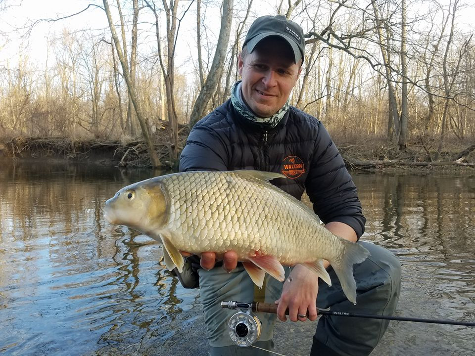 rivers to fly fish in Indiana