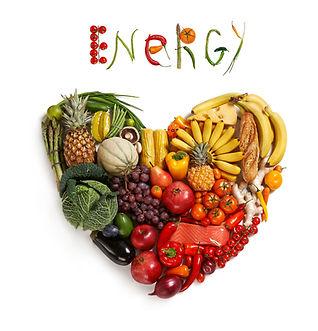 Energy food choice / studio photography