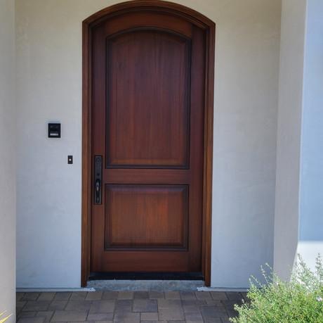 Arch Top Wood Door