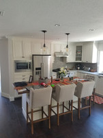 full kitchen cabinet installation