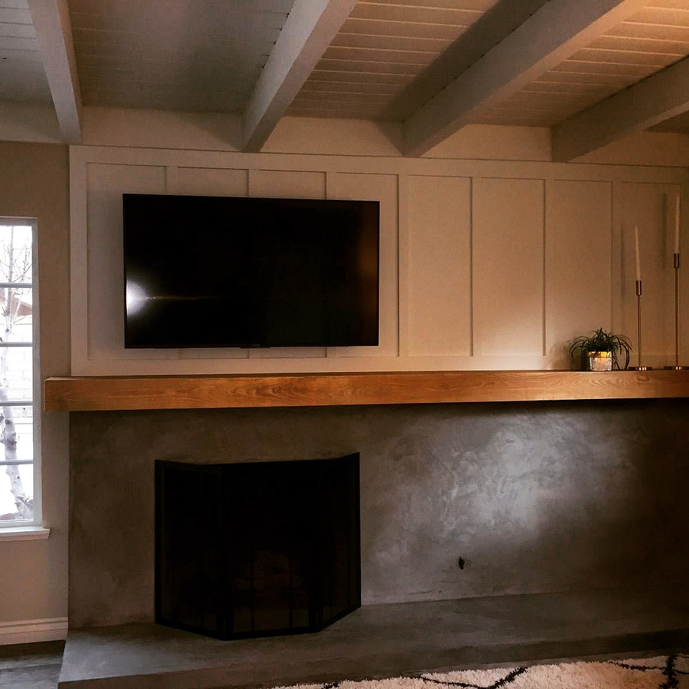 Integrity Woodworking, Huntington Beach, new mantle, upgrade my fireplace, molding, modern fireplace