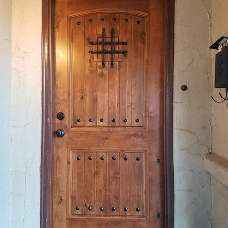 solid core Door Installation - Front Entry Door