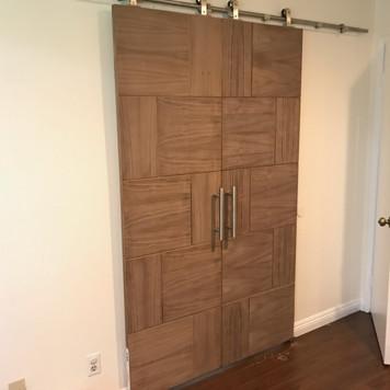 Integrity Woodworking - Barn Door