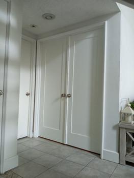 Double Shaker Style Doors