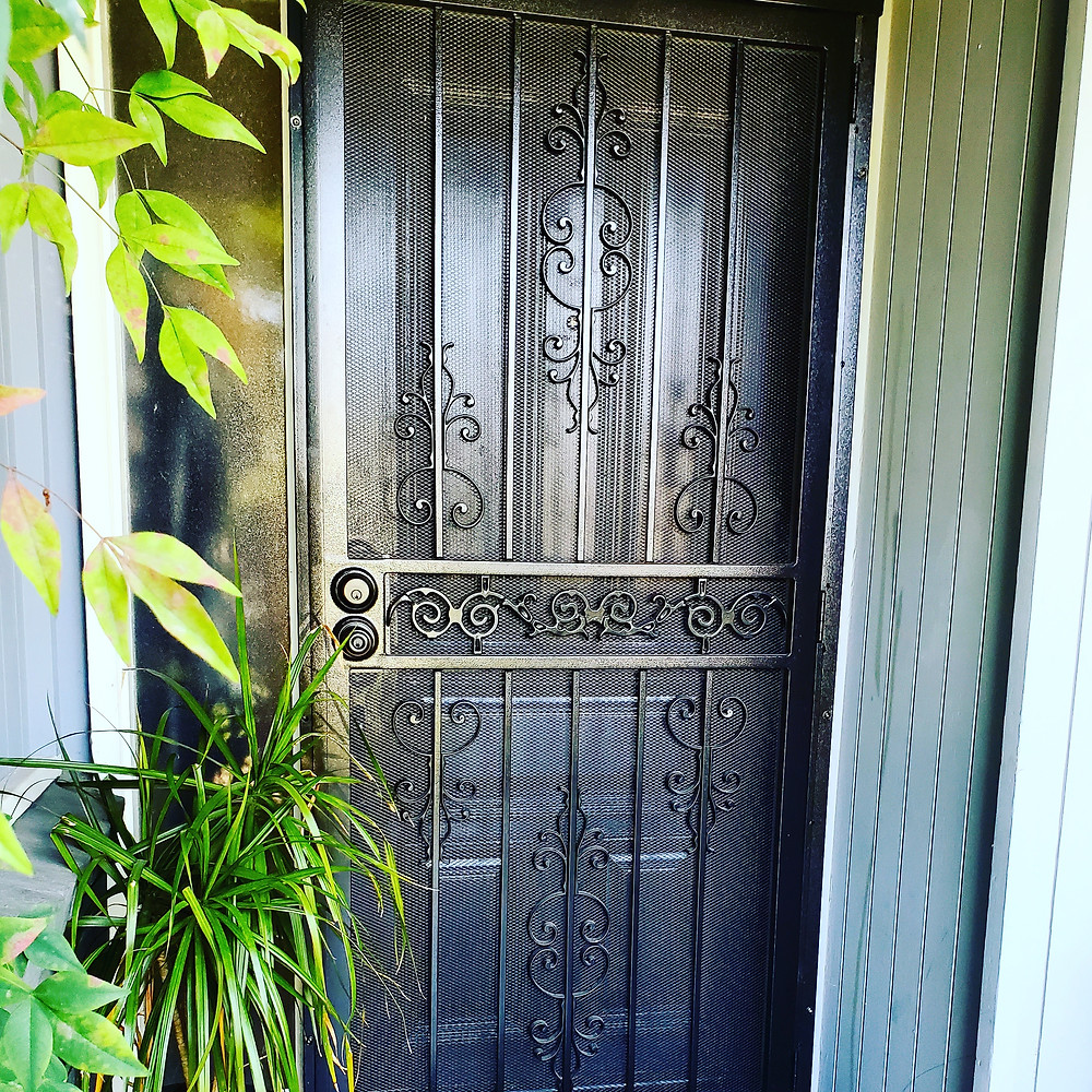 Integrity Woodworking - Secuirty Screen Door Installation