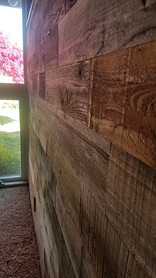 Accent Wall - Wood Panels