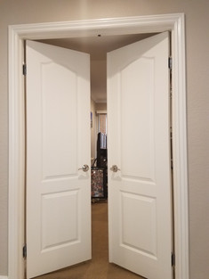 Two Panel Interior Double Door