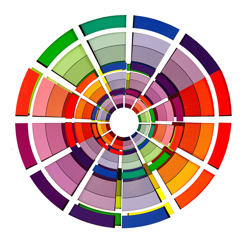 Color Wheel for the with shading