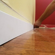 Starting from the top landing Baseboard