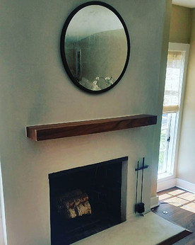 New fireplace mantel _#integritywoodwork