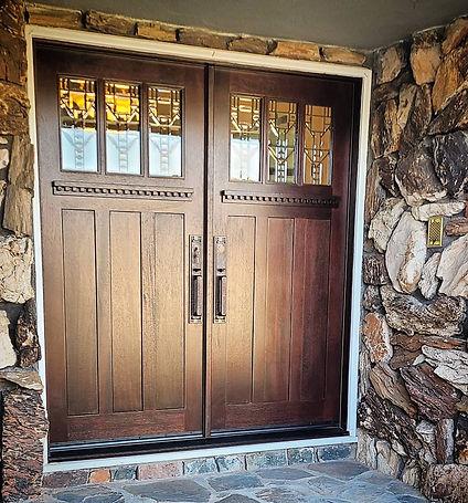 solid wood door installation orange county pa