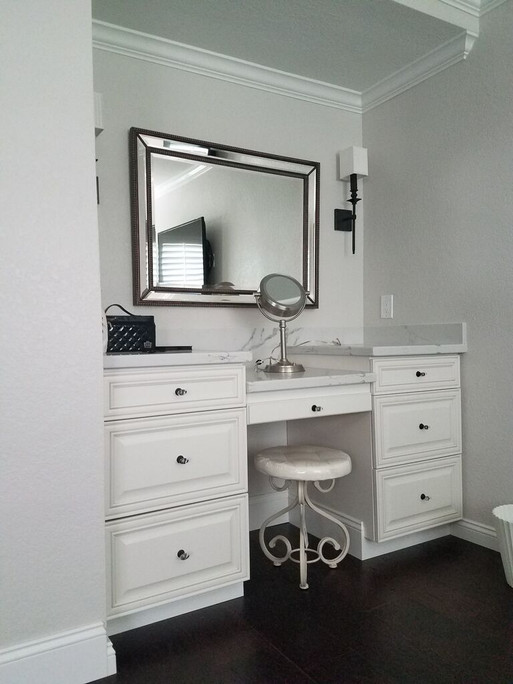 vanity cabinet installation