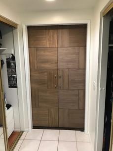 Double Barn Door - Wood