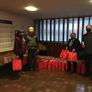 Canon Caus Charity Christmas Parcels