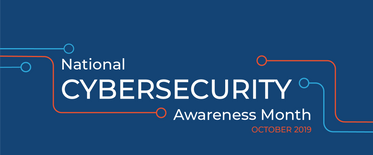 Twitter Header for National Cybersecurity Awareness Month