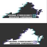 Virginia Cybersecurity Education Conference Logo (Light/Dark Mode)